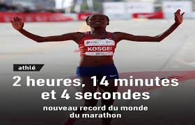Kenyan Brigid Kosgei breaks marathon world record in Chicago - athletics